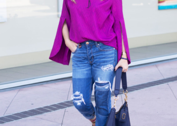 Bright Bell Sleeves, Comfy Denim.