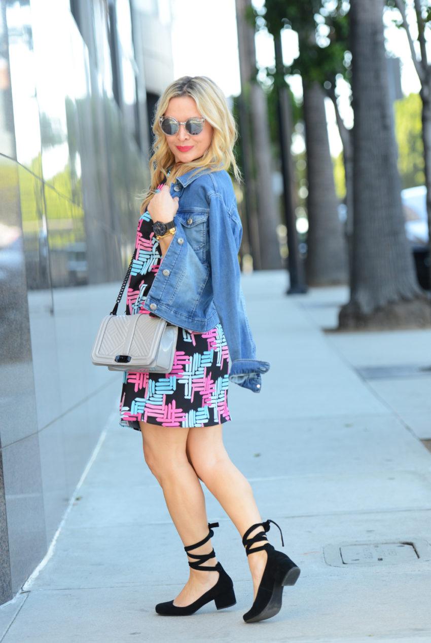 print-dress-lace-up-flats-5