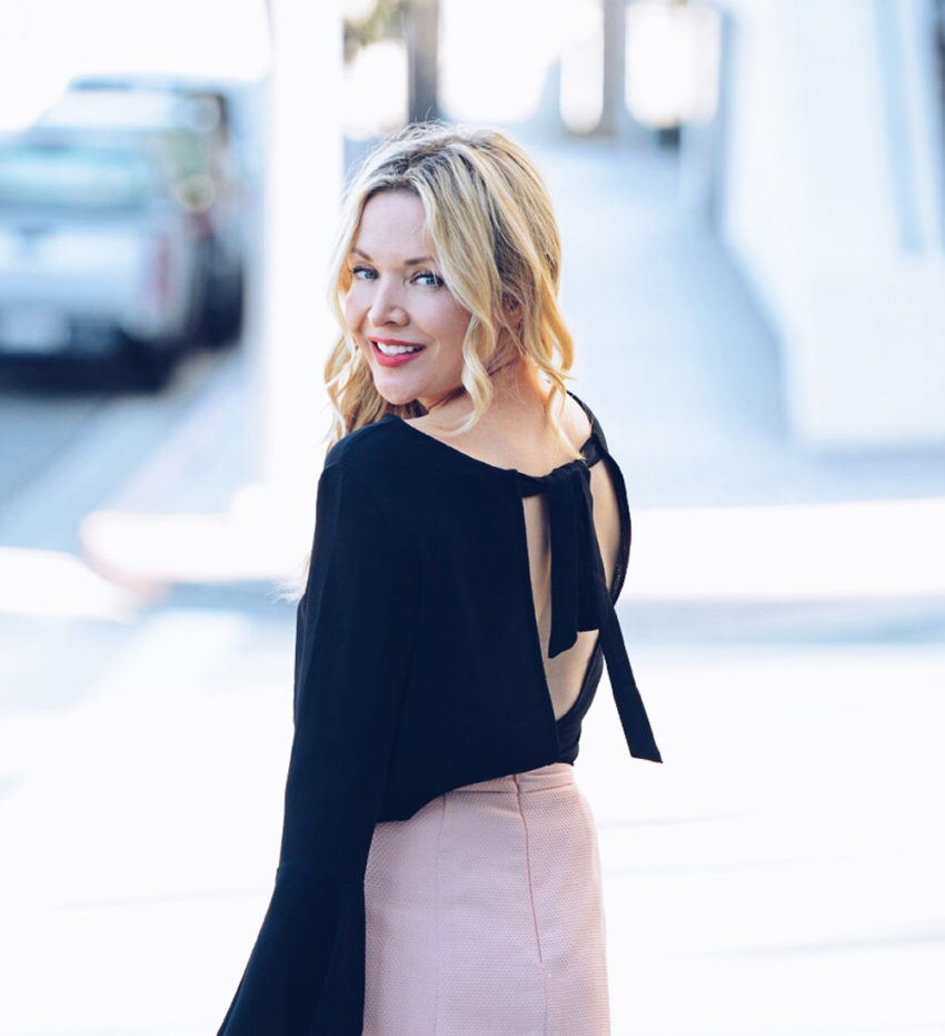 Popular Los Angeles fashion blogger Zia of The Hunter Collector.