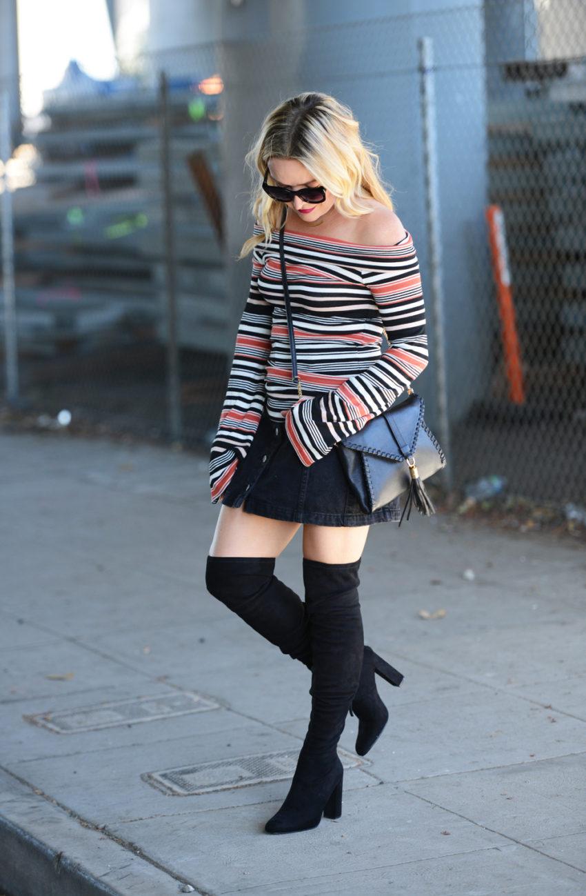 Stripes, Bells & Boots.