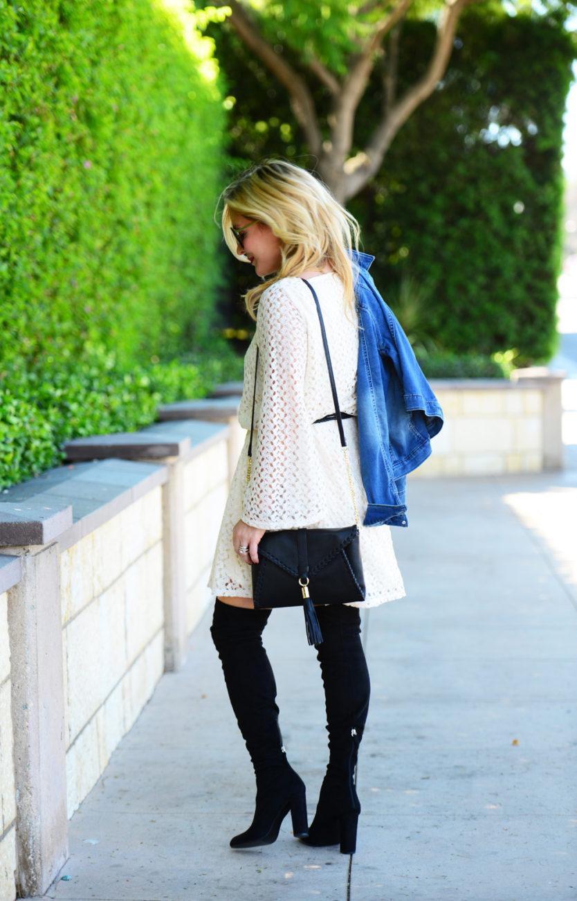 crochet-dress-denim-jacket-1