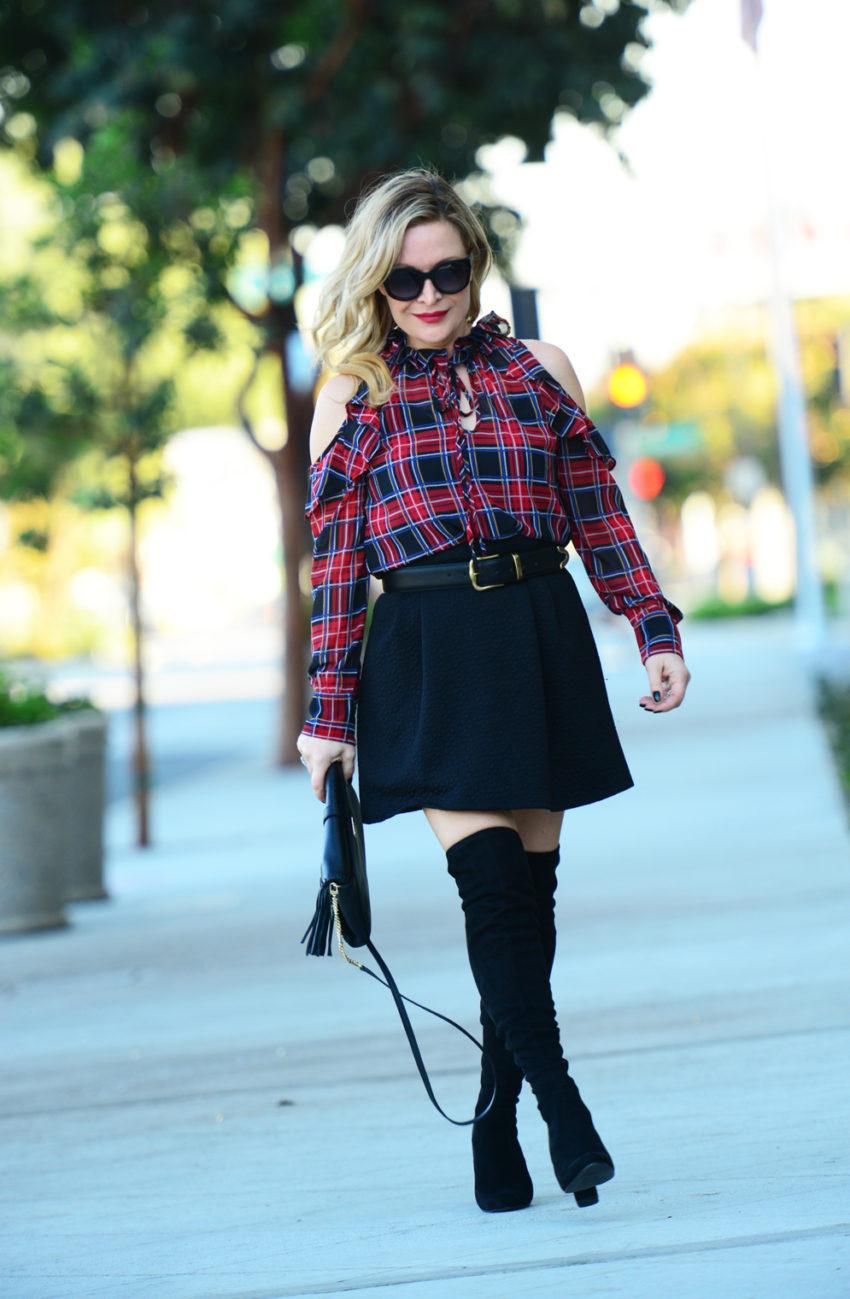 plaid-top-black-skirt-8