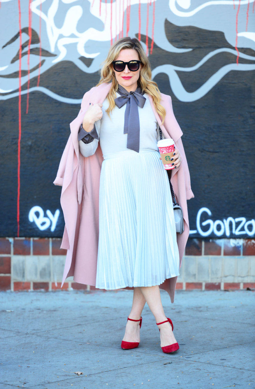 silver-skirt-pink-coat-3