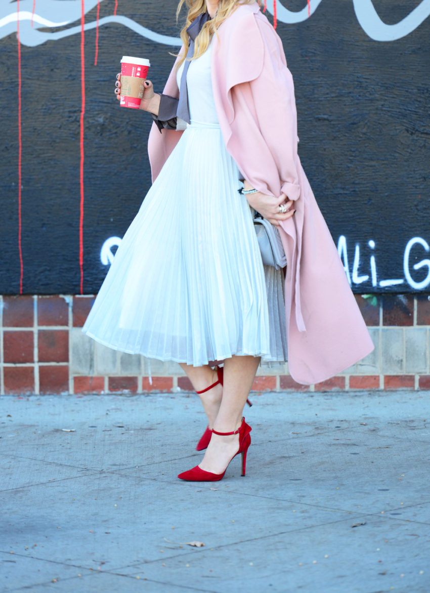 silver-skirt-pink-coat-5