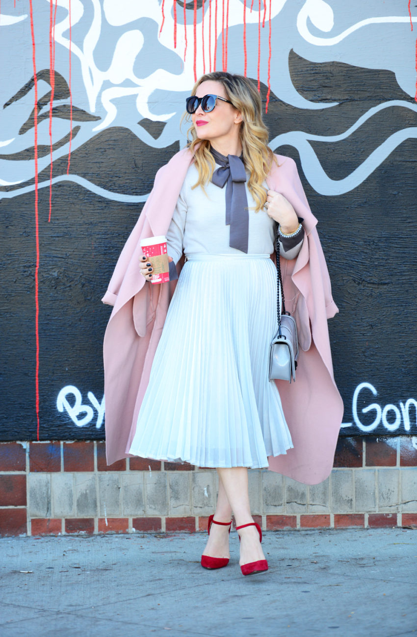 silver-skirt-pink-coat-8