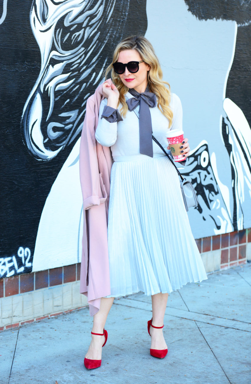 silver-skirt-pink-coat-9