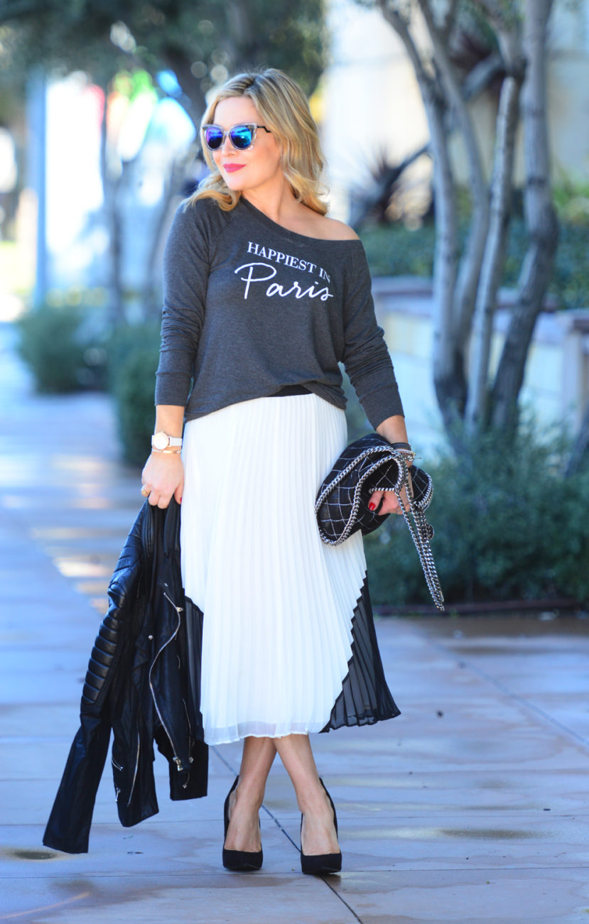 paris tee white skirt 3