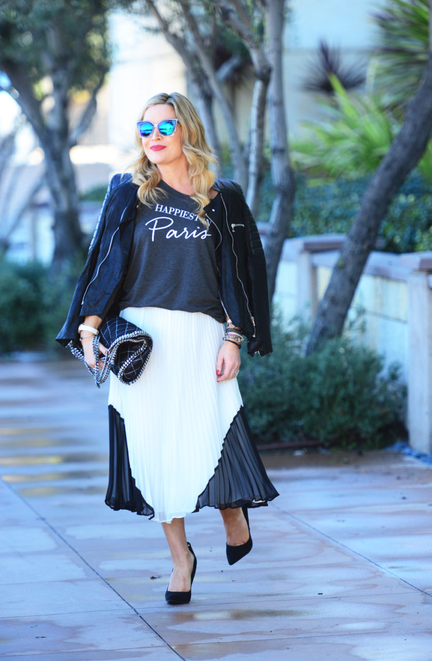 paris tee white skirt 4