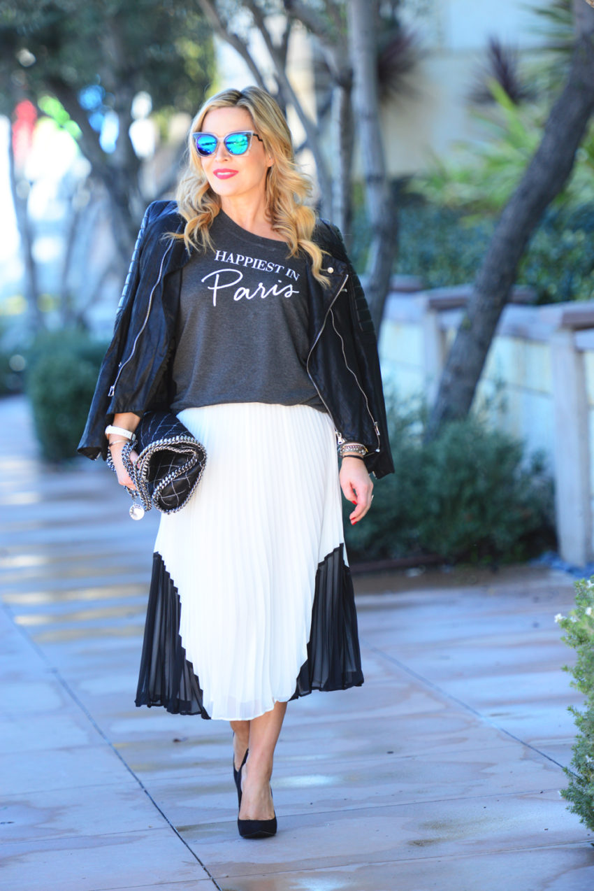 paris tee white skirt 5