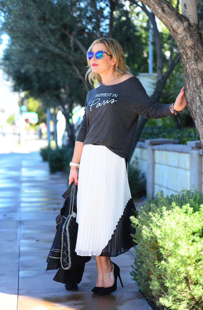 paris tee white skirt 7