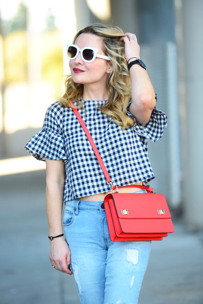 gingham and denim 3