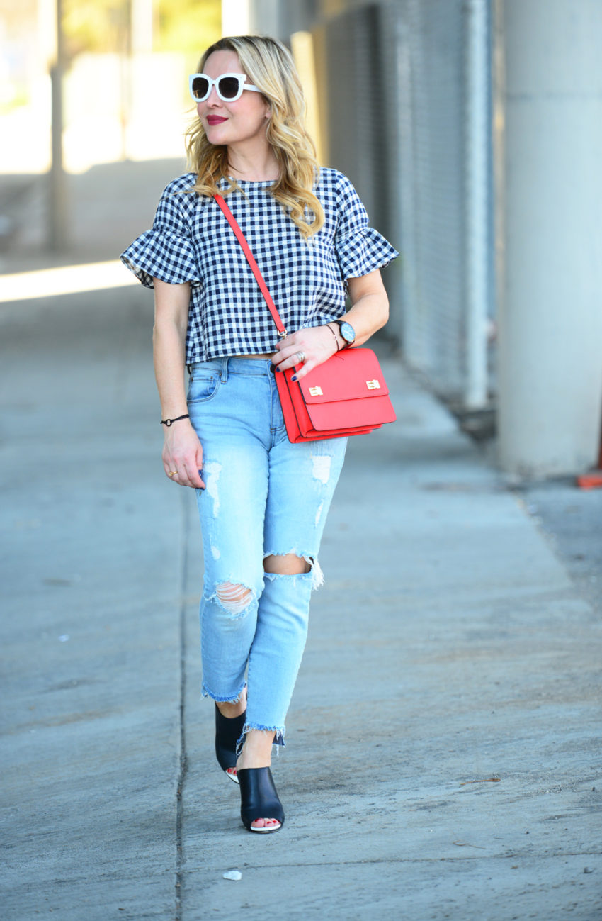 gingham and denim 4