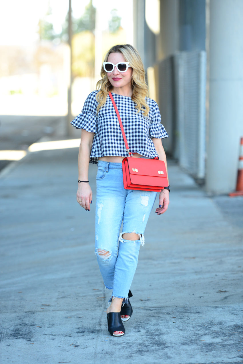 gingham and denim 5