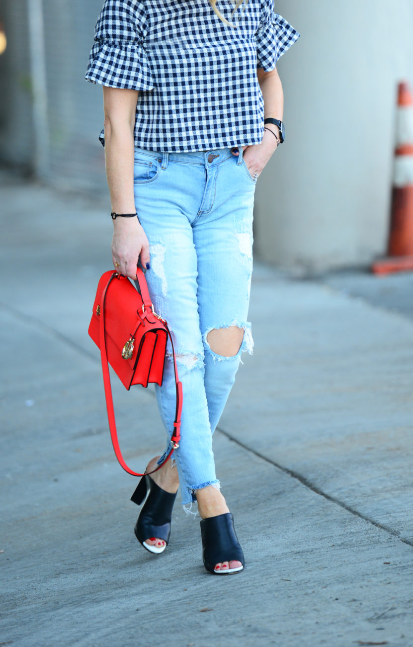 gingham and denim 6