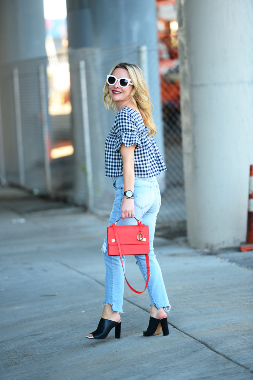 gingham and denim 7