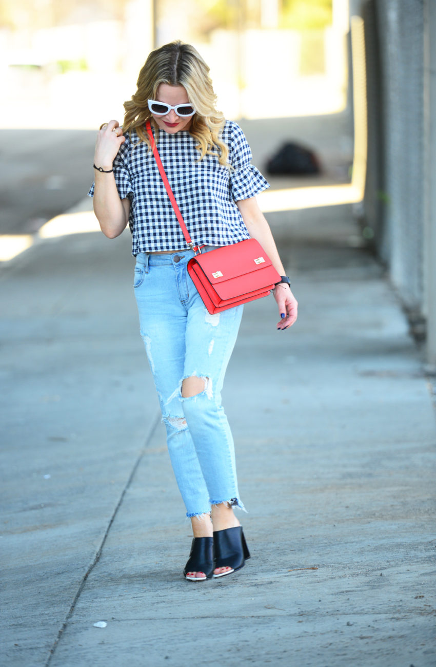 gingham and denim 8