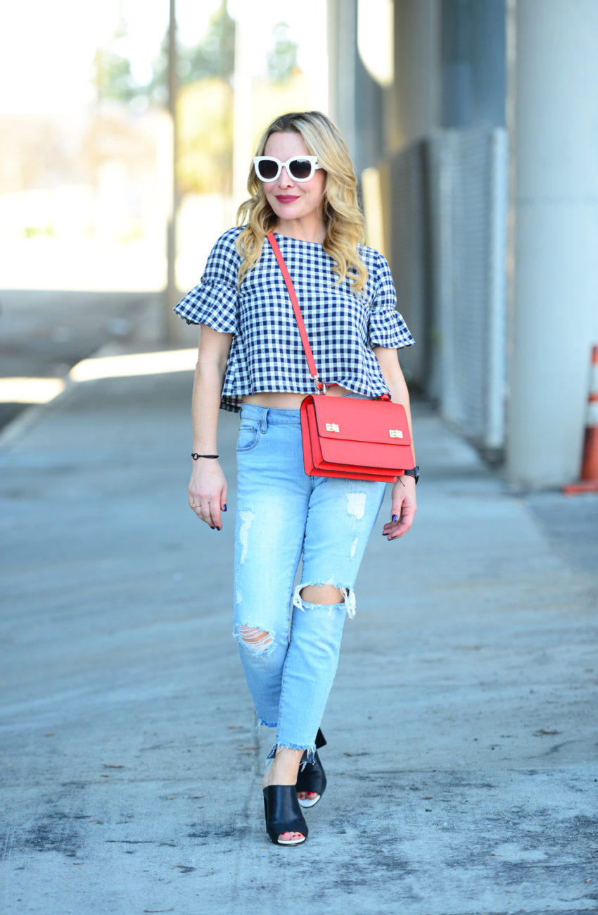 gingham and denim 9