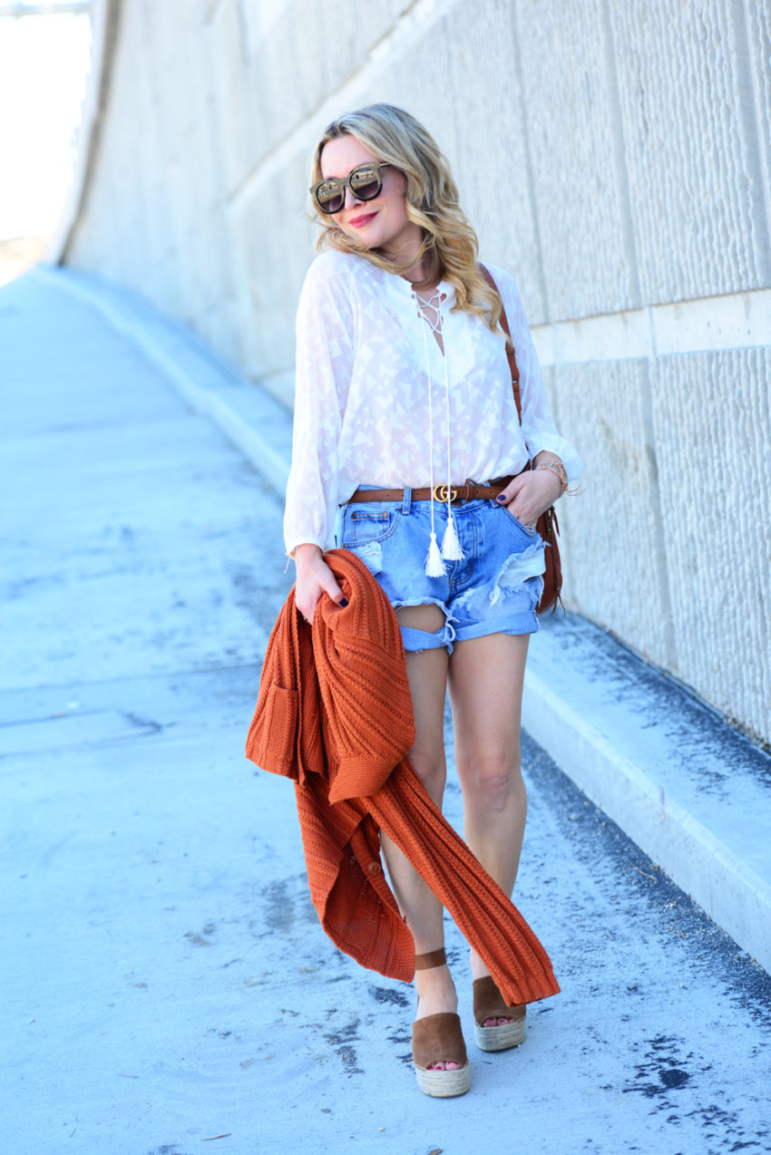 lace up top wedges 5