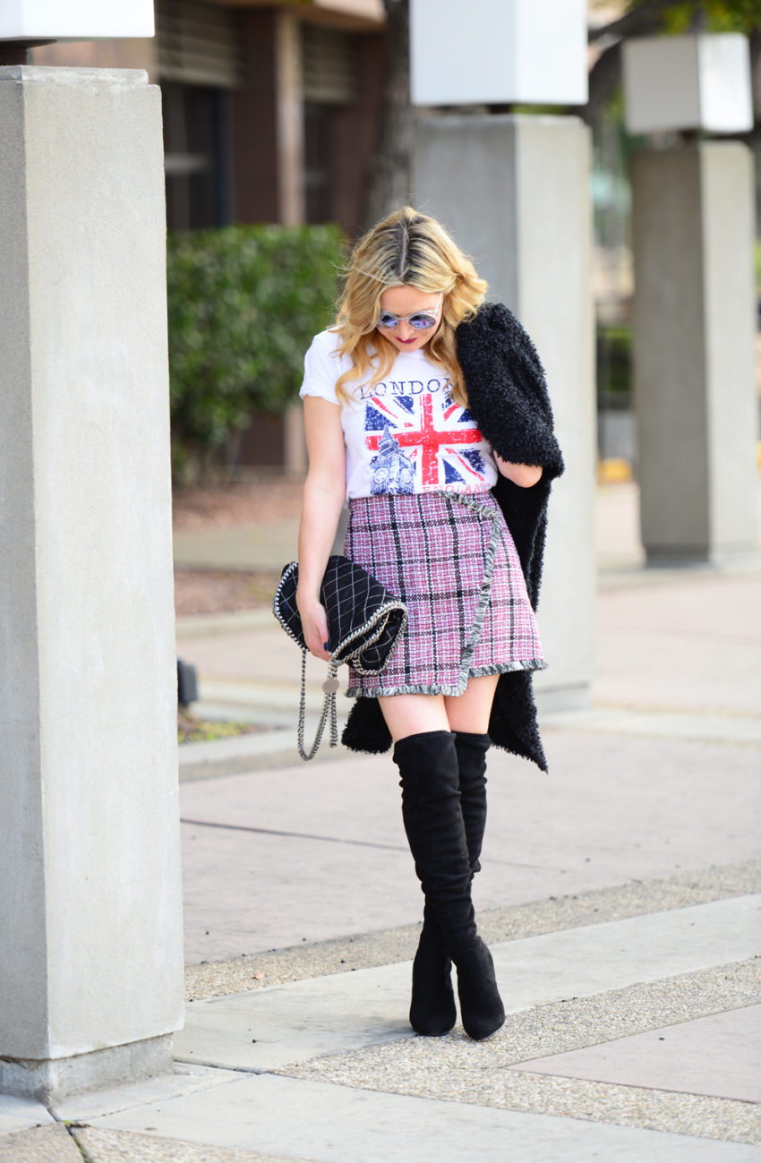 tweed skirt union jack 4