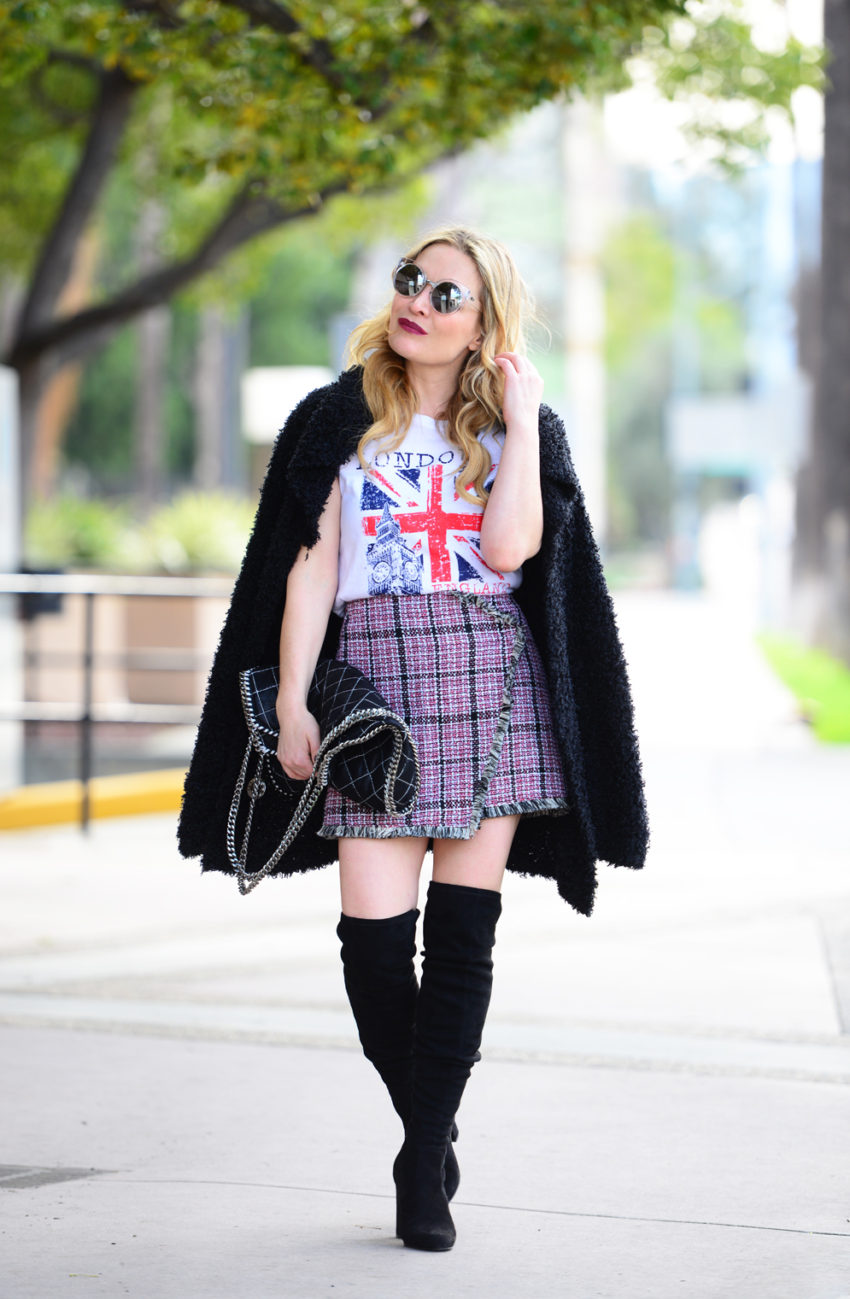 tweed skirt union jack 5