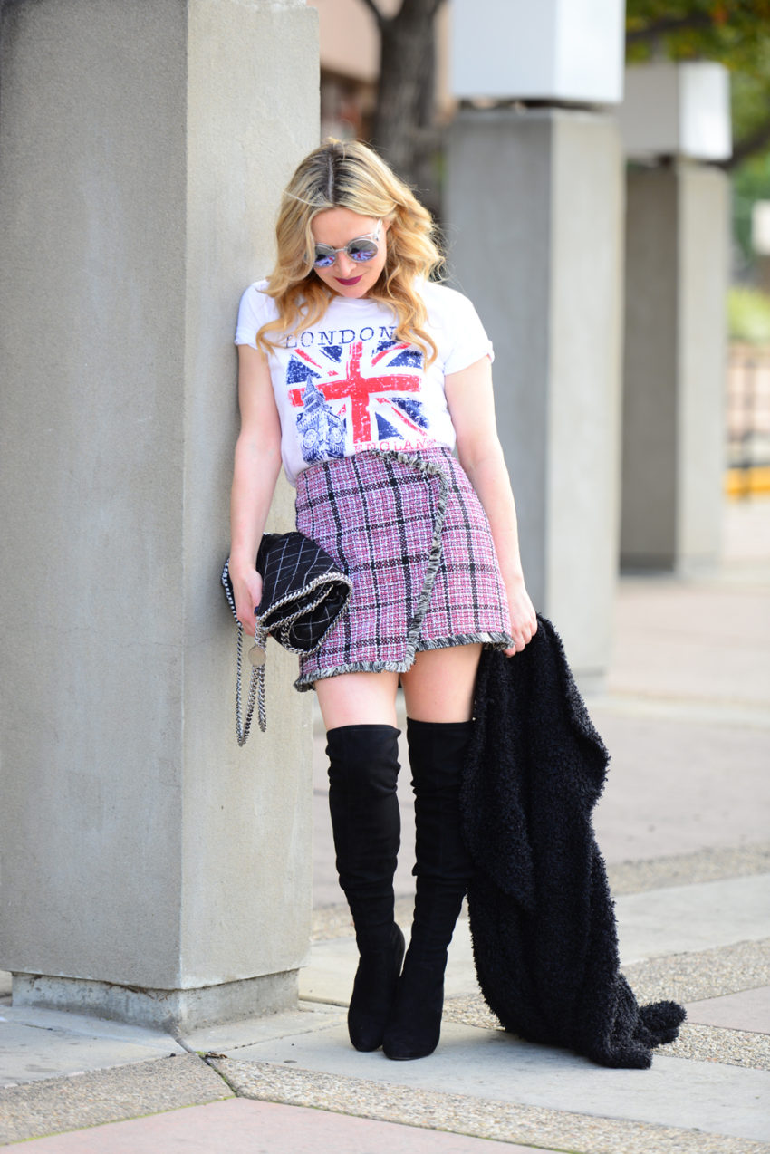tweed skirt union jack 6