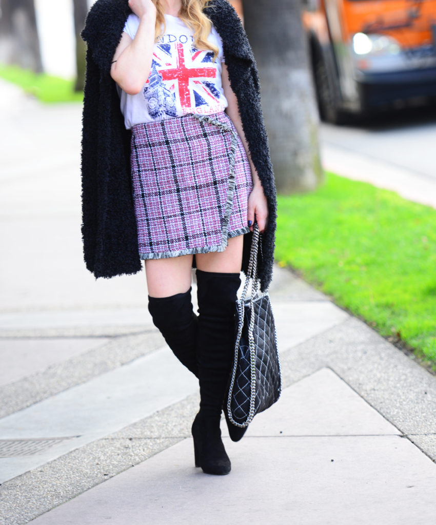 tweed skirt union jack 7