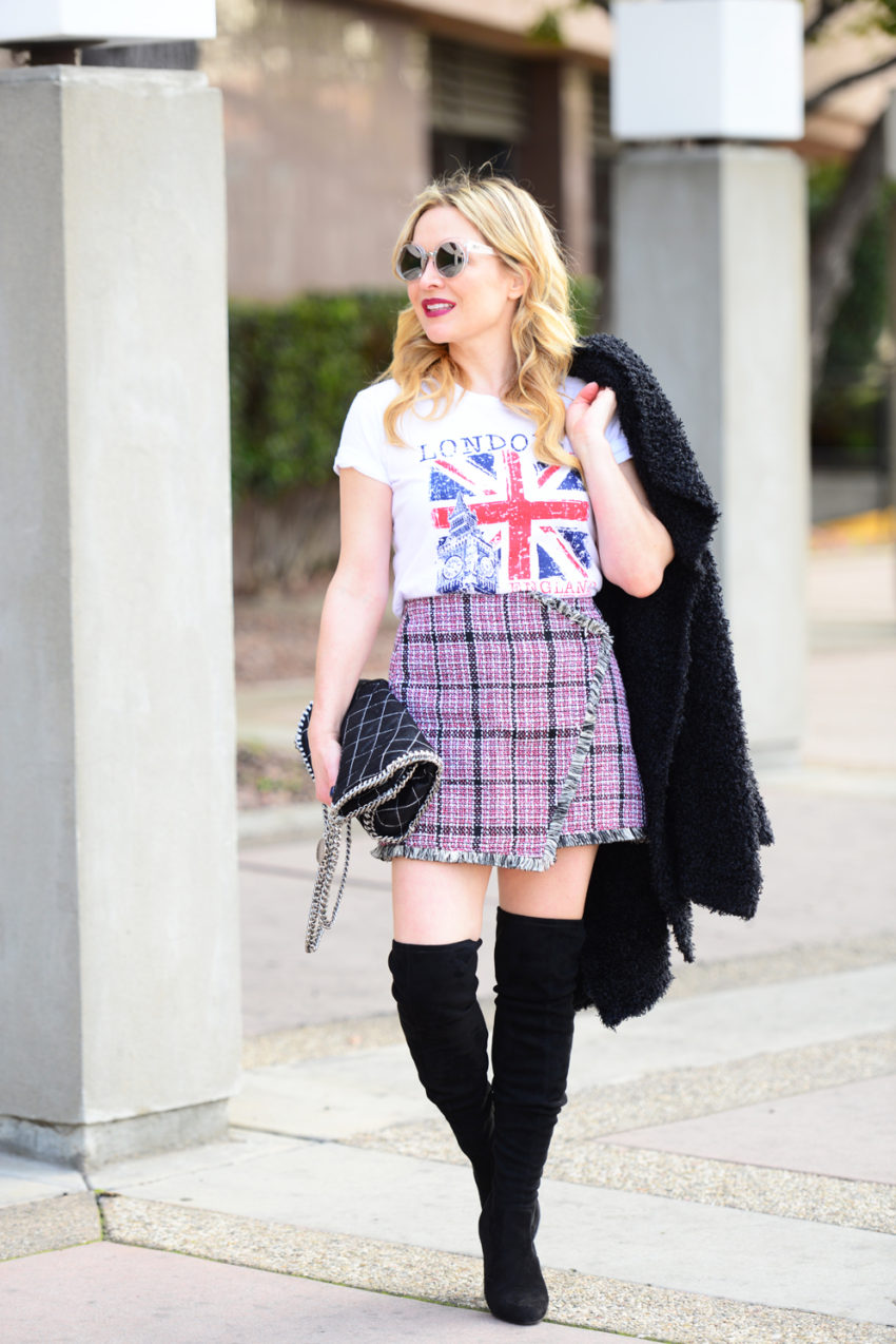 tweed skirt union jack 9