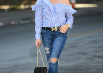 Blue Stripes, Denim, Hermes.