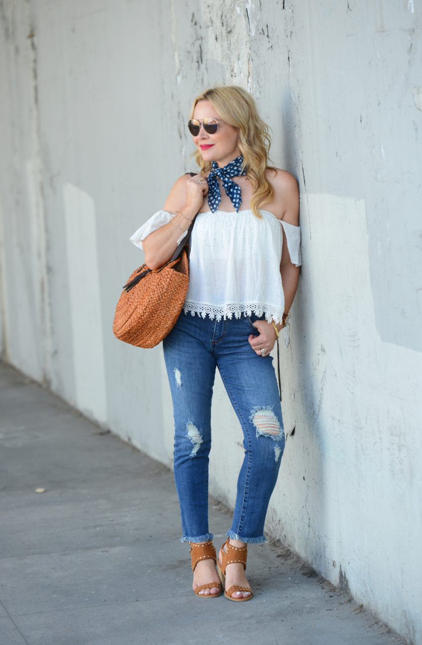 Cold Shoulder, Gingham & Denim.