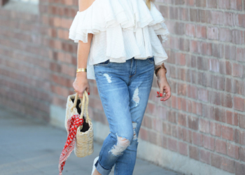 Ruffles & Distressed Denim.