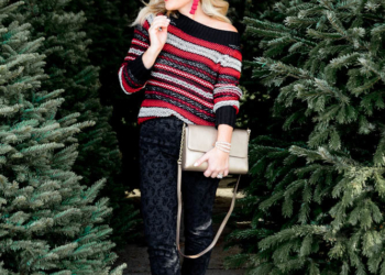 Chic Christmas Sweater.