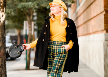 Green Plaid, Yellow Knit: Benetton Is Back!