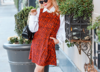 Red Leopard, Crisp White, Chunky Boots.